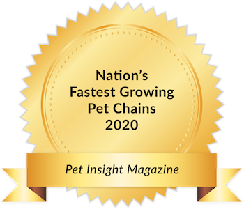 Woof Gang Bakery 2017 award - Fastest Growing Pet Chains